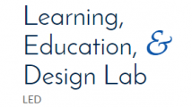 Learning, education, and design lab logo