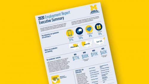 UMSI employment report executive summary