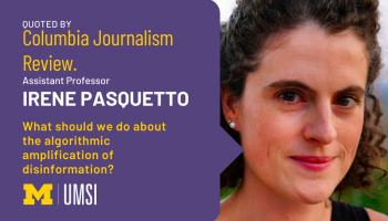 Irene pasquetto was quoted by Columbia Journalism Review