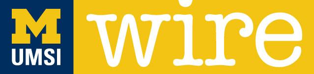UMSI Wire logo